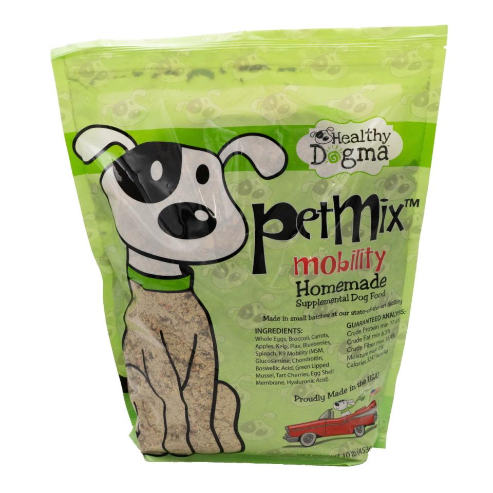 Healthy Dogma Petmix Mobility Homemade Dog Food 10 Bag