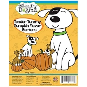 Healthy Dogma Tender Tummy Pumpkin Recipe Barkers Dog Treats, 16-oz Bag