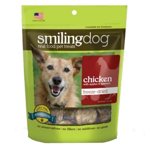 Herbsmith Smiling Dog Chicken Recipe Freeze Dried Dog