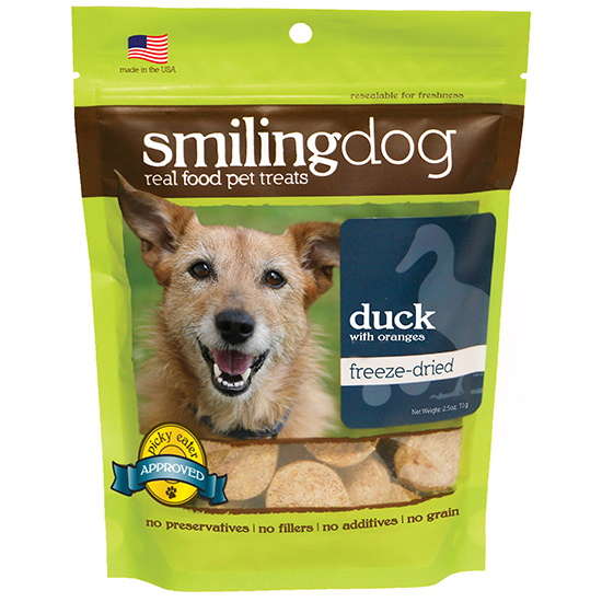 Herbsmith Freeze-Dried Duck Treats for Dogs