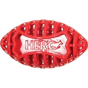 HERO USA Football Dog Toy, Red, Large
