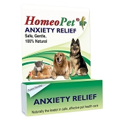 HomeoPet Anxiety Relief Remedy for Dogs and Cats