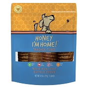 Honey I'm Home Honey Coated Buffalo Trachea Dog Treats