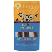 Honey I'm Home Honey Coated Buffalo Udder Sticks Dog Treats