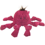 HuggleHounds Knottie Octopus Dog Toy, Colors Vary