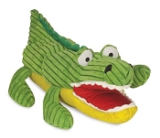 HuggleHounds Billy the Alligator Puppet Dog Toy