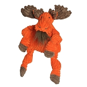 HuggleHounds Knotties Moose Dog Toy, Large