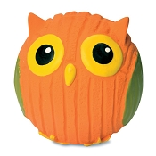 HuggleHounds Ruff-Tex Poppy the Owl Dog Toy, Large
