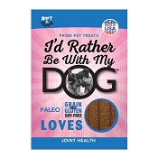 I'd Rather Be With My Dog Joint Health Dog Treats, 12-oz Bag