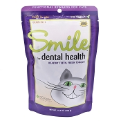 In Clover Smile Dental Health Support Soft Chews for Cats, 10.5-oz Bag
