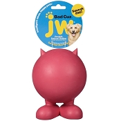 JW Pet Bad Cuz Rubber Dog Toy, Small