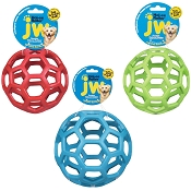 JW Pet Hol-ee Roller Ball Dog Toy, 6.5