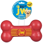 JW Pet iSqueak Bone Dog Toy, Large