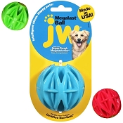 JW Pet Megalast Ball USA Dog Toy, Medium