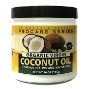 K9 Granola Factory Organic Virgin Coconut Oil for Dogs & Cats