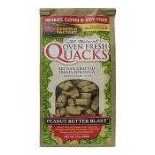 K9 Granola Factory Quacks Peanut Butter Blast Dog Treats