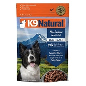 K9 Natural Beef Recipe Raw Freeze-Dried Dog Food, 17.6-oz Bag