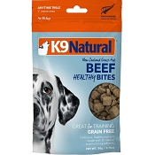 K9 Natural Beef Healthy Bites Freeze-Dried Dog Treats, 1.76-oz Bag