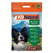 K9 Natural Lamb Feast Raw Freeze-Dried Dog Food, 8-lb