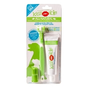 Cain & Able Kissable Pet Toothbrush and Toothpaste Combo
