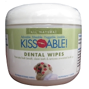 Cain & Able Kissable Dog Dental Wipes