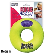 KONG AirDog Donut Dog Toy, Medium