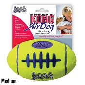 KONG AirDog Football Dog Toy, Medium