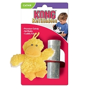 KONG Refillable Duckie Catnip Cat Toy