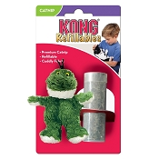 KONG Refillable Frog Catnip Cat Toy
