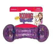 KONG Squeezz Confetti Dumbbell Assorted Md