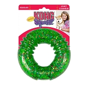 KONG Squeezz Confetti Ring Assorted Lg