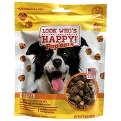 Look Who's Pop'ems Chicken Recipe USA Dog Treats, 8-oz Bag