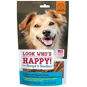 Look Who's Happy Tempt' n Tenders Chicken with Blueberry USA Dog Treats, 10-oz Bag
