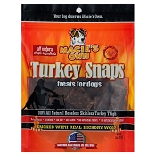 Macie's Own USA Turkey Snaps Jerky Treats for Dogs, 8-oz Bag