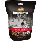 Merrick Backcountry Freeze-Dried Raw Real Beef Recipe Grain-Free Freeze-Dried Dog Food, 12.5-oz Bag