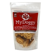 My Doggy Dried Cranberry & Apple Honey Soft-Baked Cookies Dog Treats, 10-oz Bag