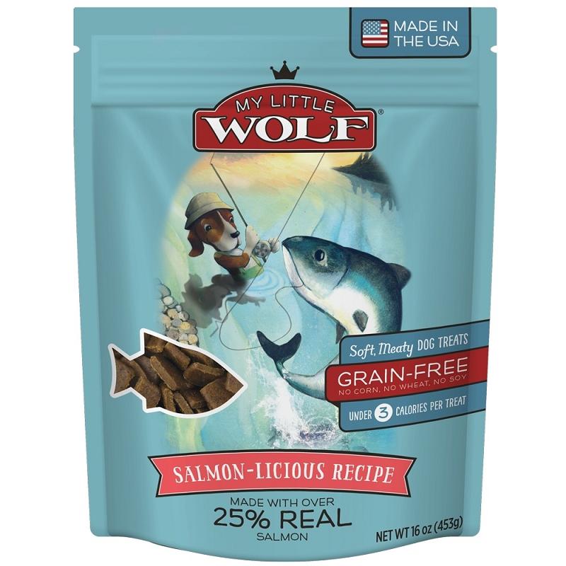 My Little Wolf Dog Treats Salmon