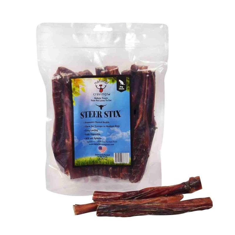 natural cravings usa beef steer bully sticks for dogs 12 oz bag. Black Bedroom Furniture Sets. Home Design Ideas