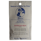 Nature's Herbs for Pets Respiratory Relief Dog Supplement, 60-Count