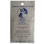 Nature's Herbs for Pets Thyroid Boost For Dogs, 90-Count