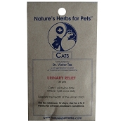Nature's Herbs for Pets Urinary Relief Cat Supplement, 30-Count