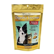 NaturVet Naturals Digestive Enzymes Dog & Cat Powder Supplement