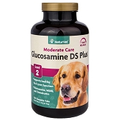 NaturVet Glucosamine DS with MSM & Chondroitin Dog Joint Supplement, 120 Count