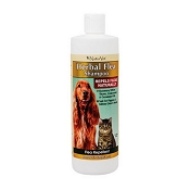 NaturVet Herbal Flea Shampoo for Dogs and Cats