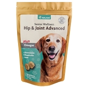 NaturVet Senior Care Hip and Joint Advanced Formula Dog Soft Chews