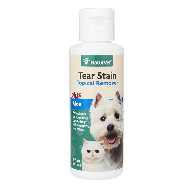 Naturvet Tear Stain Remover Dog Amp Cat Liquid Topical