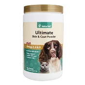 NaturVet Ultimate Skin & Coat Dog & Cat Powder Supplement