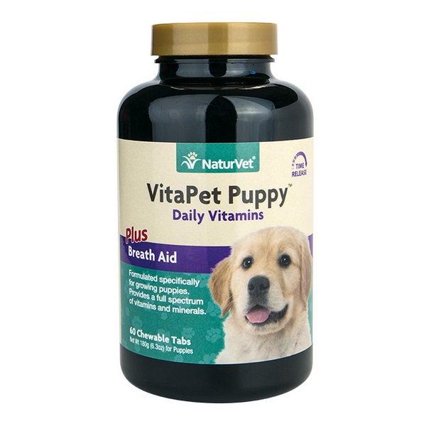 Naturvet Puppy Vitamin Chewable Tablets