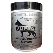 Nupro Silver Joint Support Dog Supplement, 30 oz