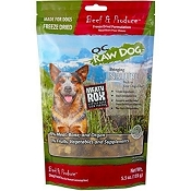 OC Raw Meaty Rox Beef & Produce Freeze Dried Dog Food, 5.5-oz Bag